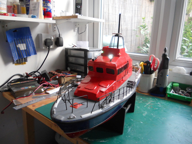 Model Slipway Rescue Boat Dscn0350