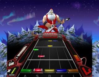 Santa Rockstar: Metal Xmas 4 1112