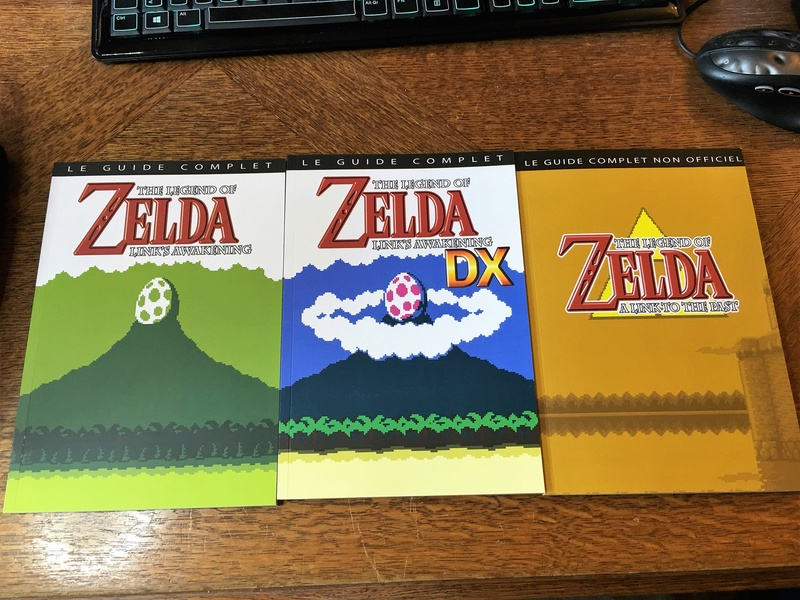 guides + goodies Zelda Link's Awakening Img_2316