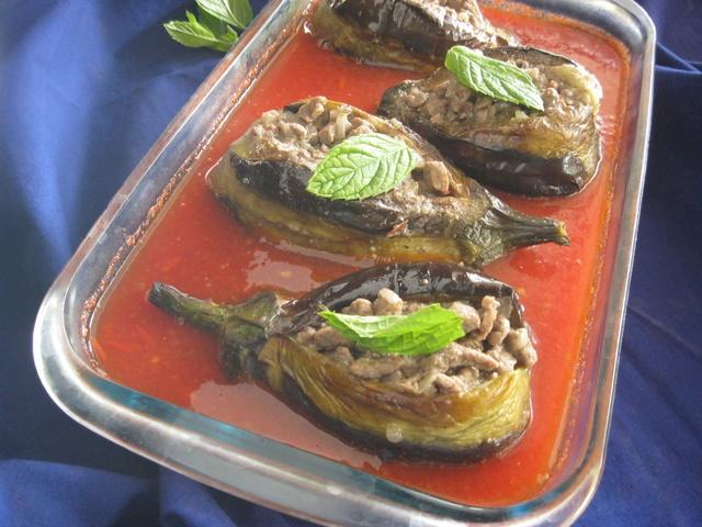 Шейх махшы. Араб.кухня. Баклажан с мясным фаршем Img_3910