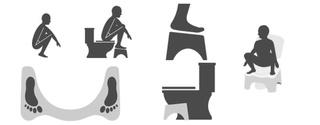 Retrouver une position physiologique aux toilettes Image34