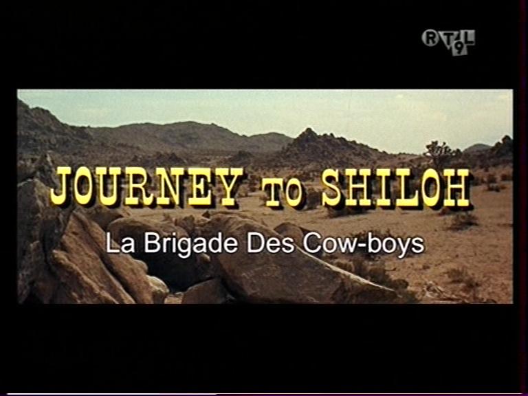 La Brigade des cow-boys. Journey to Shiloh. 1968. William Hale. Vlcsna13