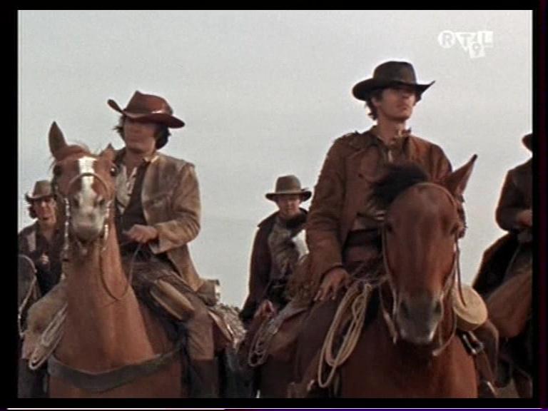 La Brigade des cow-boys. Journey to Shiloh. 1968. William Hale. Vlcsna14