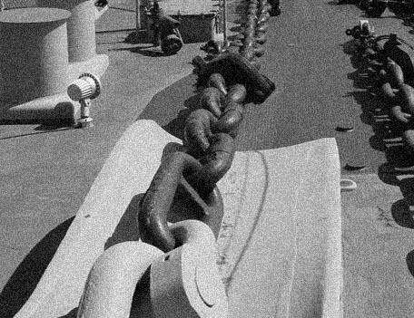 Die Mighty Mo ... Stef's USS Missouri - Seite 5 Kette10