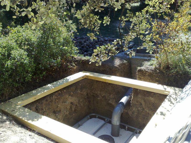 Pastou - un jardin sans eau... avec une rivière 29092010