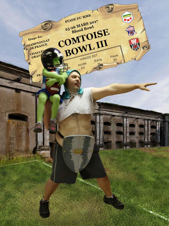Comtoise Bowl III - 25 & 26 mars 2017 Affich10