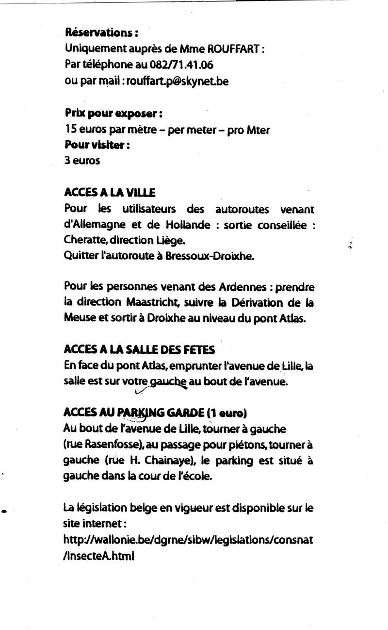 Bourse aux insectes Liège-Droixhe 00210