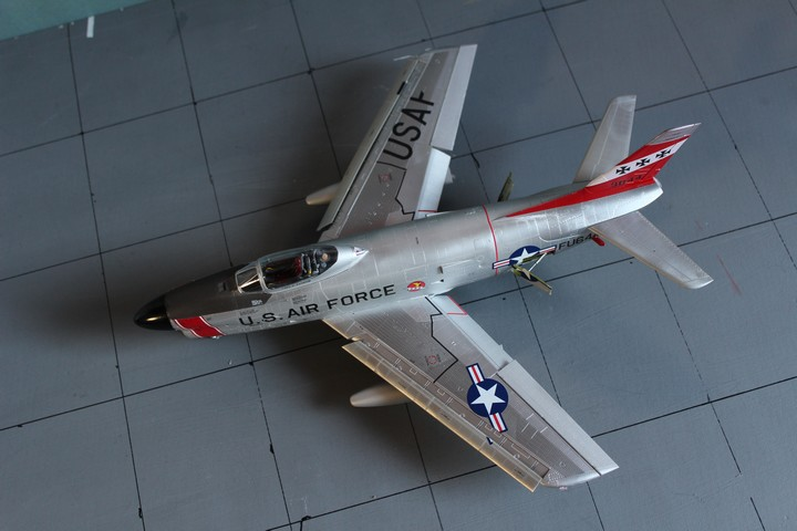 NORTH AMERICAN F-86D SABRE North_12
