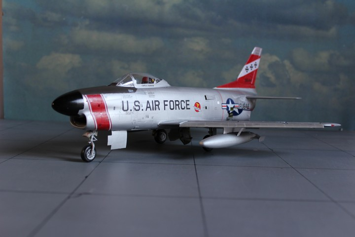 NORTH AMERICAN F-86D SABRE North_14
