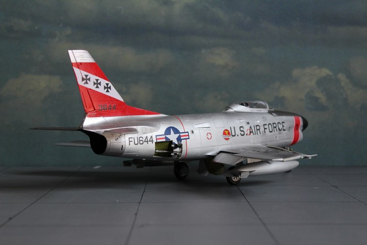 NORTH AMERICAN F-86D SABRE North_22