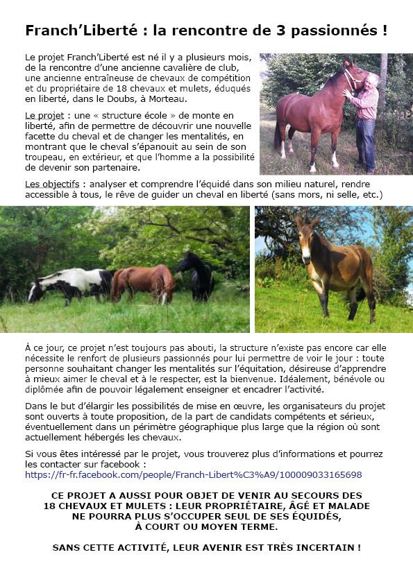 25 - Franch'Liberté - recherche bénévoles pour mise en place d'un projet  Franch13