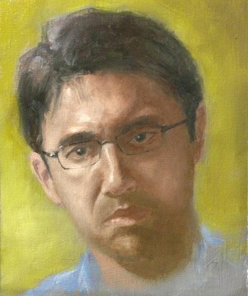 62nd Painting: Self Portrait #2 Self_p13