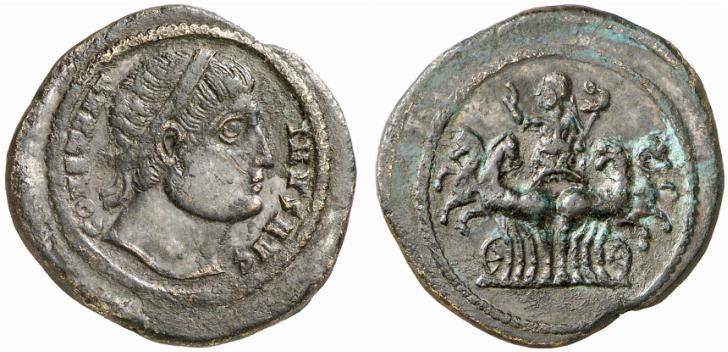 Le monnayage des vicennalia de 326 et la mort de Crispus Abschl10