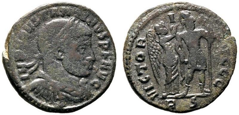 Un follis inédit de Constantin Ier, revers avec Victoire et empereur Img_2423