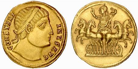 Le monnayage des vicennalia de 326 et la mort de Crispus Ric_1_12