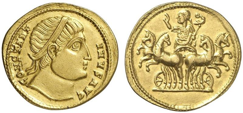 Le monnayage des vicennalia de 326 et la mort de Crispus Ric_1_13