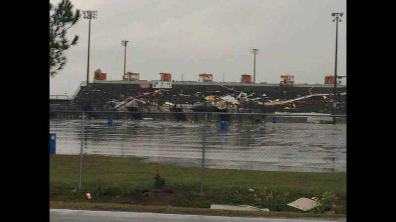 SGMP in Adel Ga. suffered major damage in tornado this morning  Img_0711