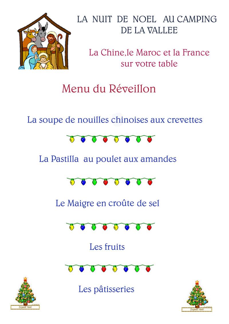 [Maroc Camp/Dernières nouvelles]  Que faire pour les  fêtes ? - Page 2 Menu_r10