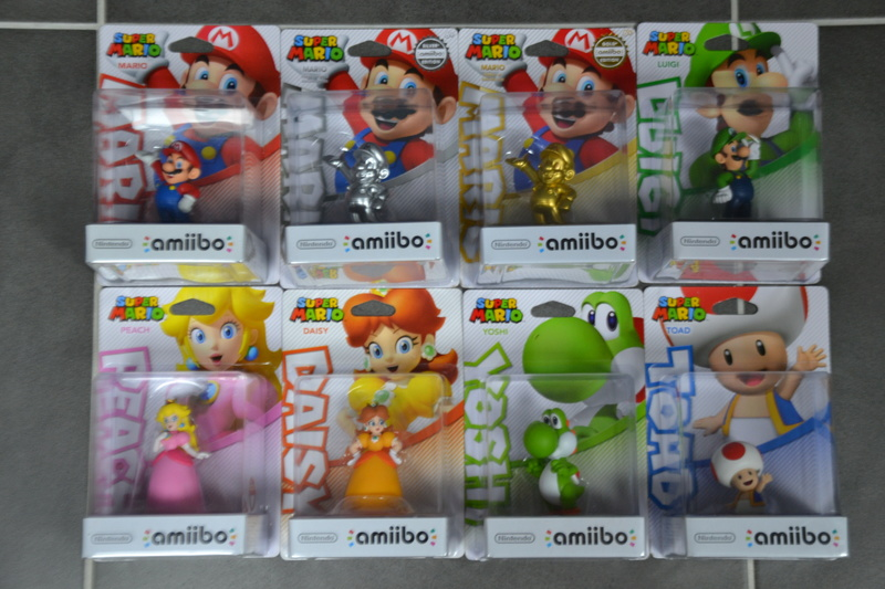 La collection de D3vILWiNNiE Amiibo15