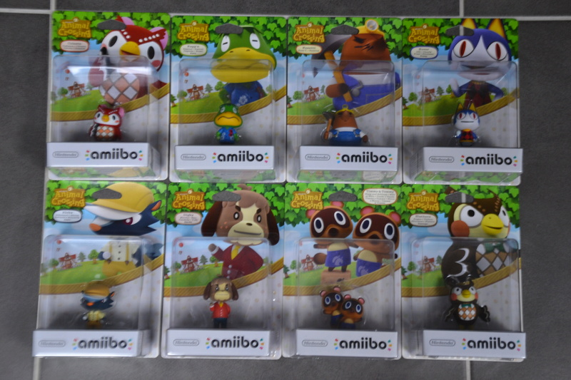 La collection de D3vILWiNNiE Amiibo16