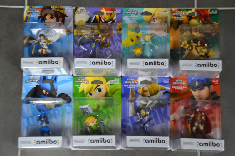 La collection de D3vILWiNNiE Amiibo19