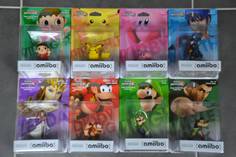 La collection de D3vILWiNNiE Amiibo22