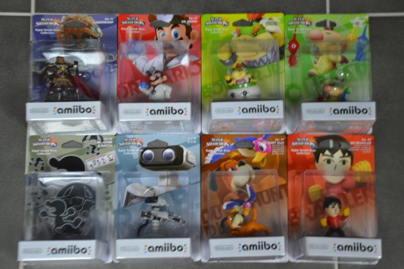 La collection de D3vILWiNNiE Amiibo23