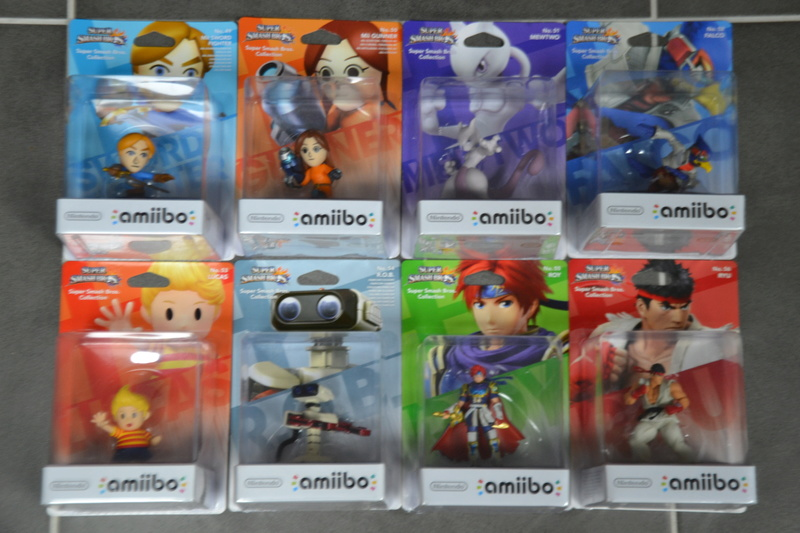 La collection de D3vILWiNNiE Amiibo27