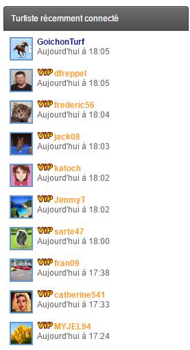 Widget : Recent Members 8910