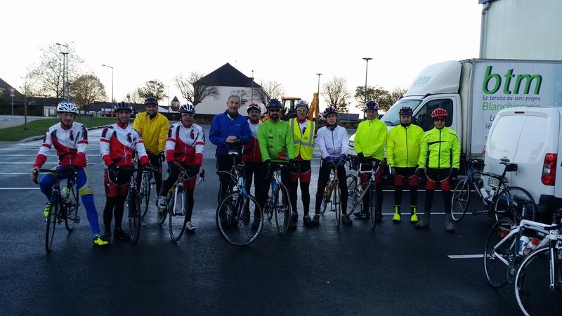 Sortie cyclo 19 novembre local. 20161116