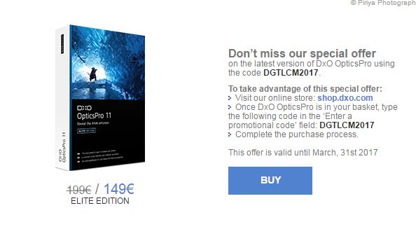 DxO Opticpro 9 gratuit Captur24