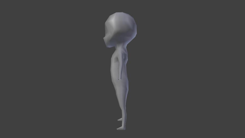 [Blender] Character Side11