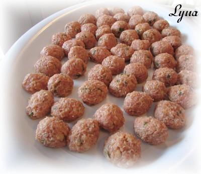 Boulettes de porc croustillantes à la mozzarella Boulet10