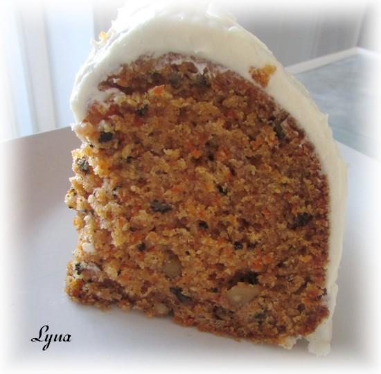 Gâteau aux carottes Gyteau11