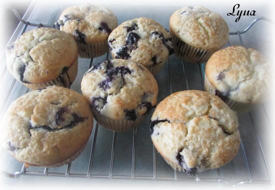Muffins aux bleuets Muffin10