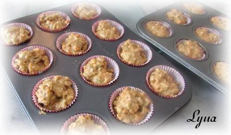 Mini-muffins aux carottes, courgettes et céréales Fibre 1 Muffin11