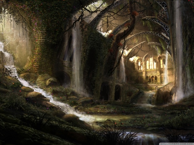 Du sang pour le Calice - Background Ruines10