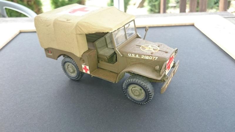 Dodge 3/4 ton ambulance 1/35 D210