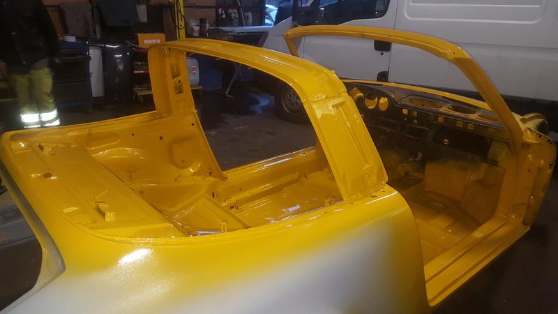 coup de jeune pour une 911T targa de 1969 20161212