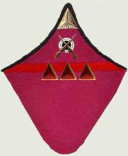 Insignes de grade soviétiques Rkka4015