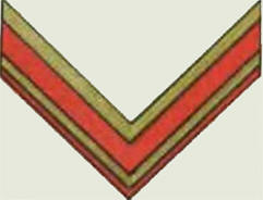 Insignes de grade soviétiques Rkka4020