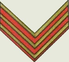 Insignes de grade soviétiques Rkka4022