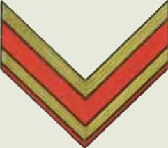 Insignes de grade soviétiques Rkka4024