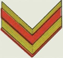 Insignes de grade soviétiques Rkka4026