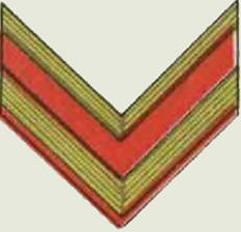 Insignes de grade soviétiques Rkka4028