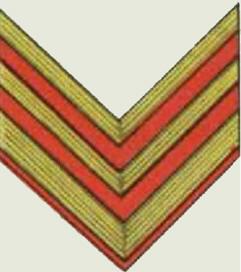 Insignes de grade soviétiques Rkka4030