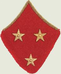 Insignes de grade soviétiques Rkka4112