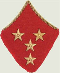 Insignes de grade soviétiques Rkka4113