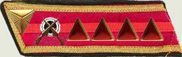 Insignes de grade soviétiques Rkka4213