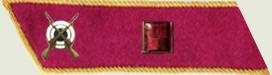Insignes de grade soviétiques Rkka4214